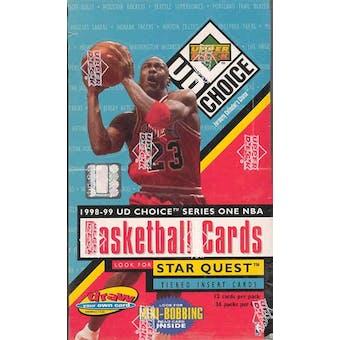1998/99 Upper Deck Choice Series 1 Basketball Hobby Box