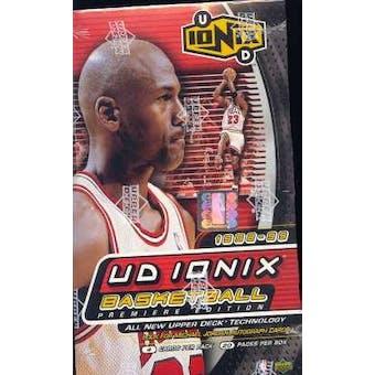 1998/99 Upper Deck Ionix Basketball Hobby Box