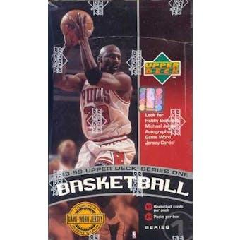 1998/99 Upper Deck Series 1 Basketball Hobby Box