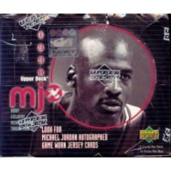 1998/99 Upper Deck MJx Basketball Hobby Box