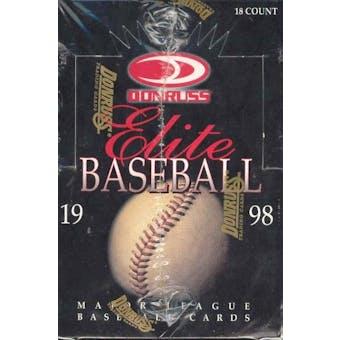 1998 Donruss Elite Baseball Hobby Box