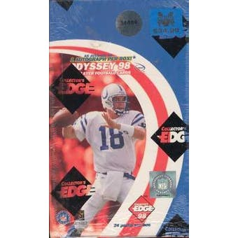 1998 Collector's Edge Odyssey Football Hobby Box