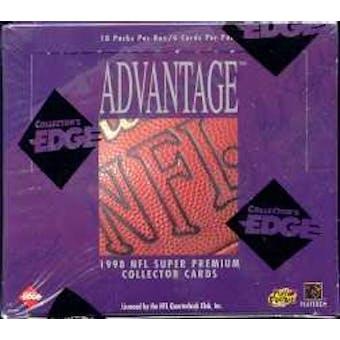 1998 Collector's Edge Advantage Football Hobby Box