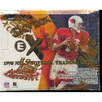 1998 Fleer Skybox E-X 2001 Football Hobby Box