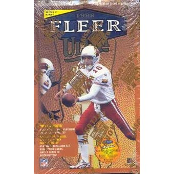 1998 Fleer Ultra Series 2 Football Hobby Box
