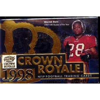 1998 Pacific Crown Royale Football Hobby Box