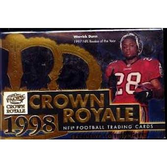 1998 Pacific Crown Royale Football Hobby Box