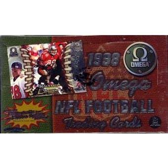 1998 Pacific Omega Football Hobby Box