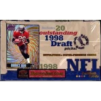 1998 Pacific Revolution Football Hobby Box