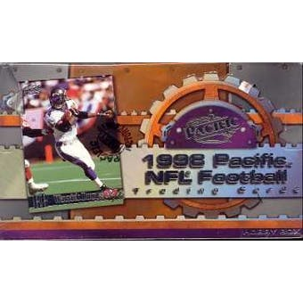 1998 Pacific Football Hobby Box