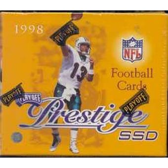 1998 Playoff Prestige SSD Football Hobby Box