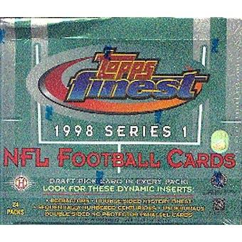 1998 Topps Finest Series 1 Football Hobby Box