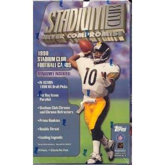 1998 Topps Stadium Club Football Hobby Box