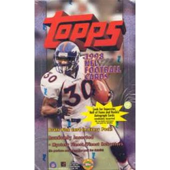 1998 Topps Football Jumbo Box