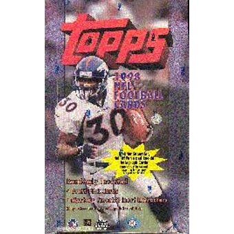 1998 Topps Football Hobby Box
