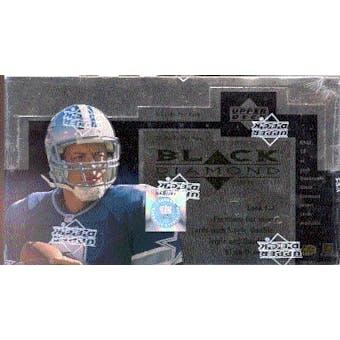 1998 Upper Deck Black Diamond Football Hobby Box