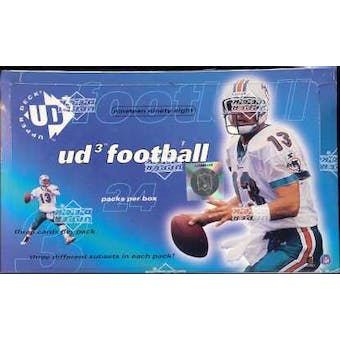 1998 Upper Deck UD3 Football Hobby Box