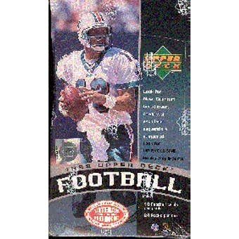 1998 Upper Deck Football Hobby Box
