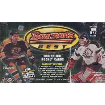 1998/99 Bowman's Best Hockey Hobby Box