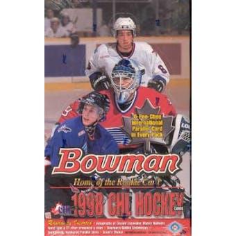 1998/99 Bowman CHL Prospects Hockey Hobby Box