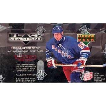 1998/99 Upper Deck Black Diamond Hockey Hobby Box