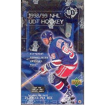 1998/99 Upper Deck UD3 Hockey Hobby Box