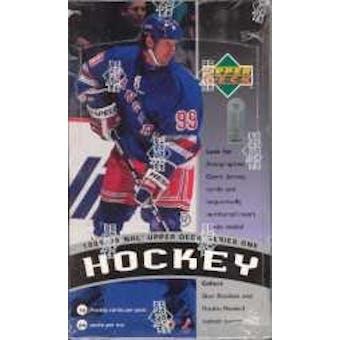 1998/99 Upper Deck Series 1 Hockey Hobby Box