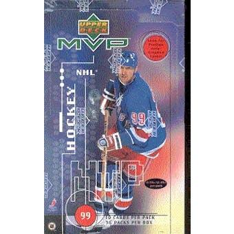 1998/99 Upper Deck MVP Hockey Hobby Box