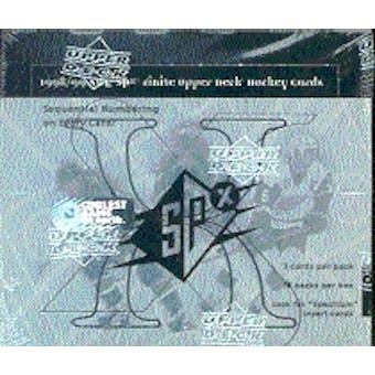 1998/99 Upper Deck SPx Finite Hockey Hobby Box