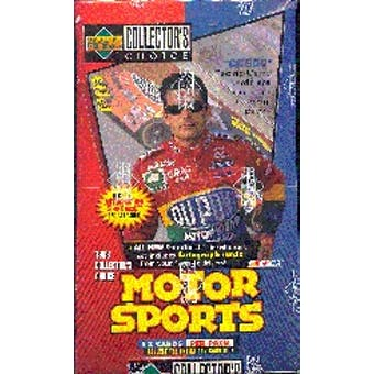1998 Upper Deck Collector's Choice Racing Hobby Box