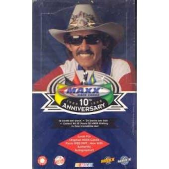 1998 Upper Deck Maxx 10th Anniversary Racing Hobby Box