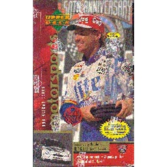 1998 Upper Deck Road To The Cup Racing Prepriced Box