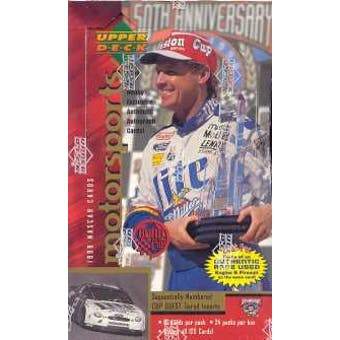 1998 Upper Deck Road To The Cup Racing Hobby Box
