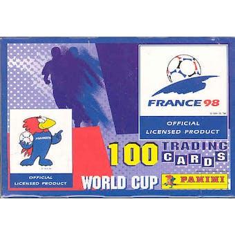 1998 Panini World Cup Soccer Hobby Box