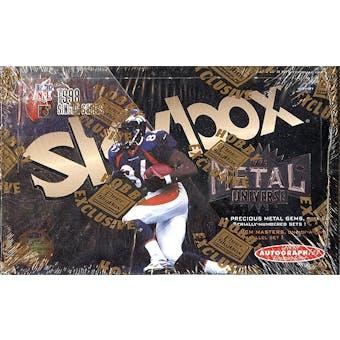 1998 Skybox Metal Universe Football Hobby Box