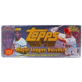 1998 Topps Baseball Hobby Factory Set (Brown)