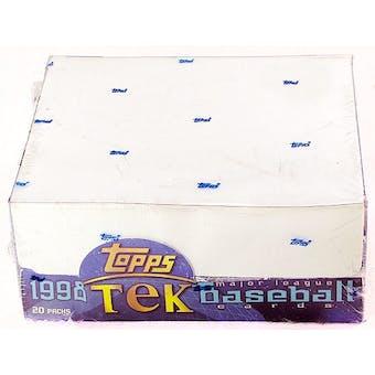 1998 Topps Tek Baseball Hobby Box