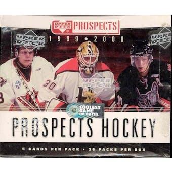 1999/00 Upper Deck CHL Prospects Hockey Box