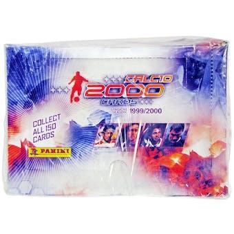 1999/00 Panini Soccer (Football) Italian Trading Card Box