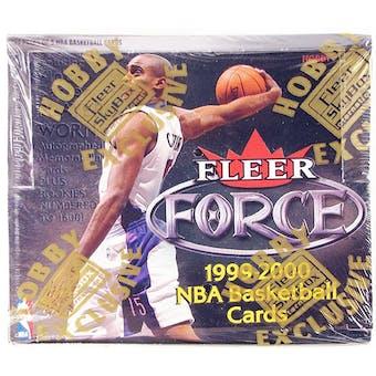 1999/00 Fleer Force Basketball Hobby Box