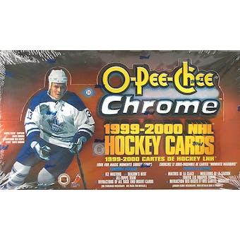 1999/00 O-Pee-Chee Chrome Hockey Hobby Box