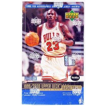 1999/00 Upper Deck Series 1 Basketball Hobby Box