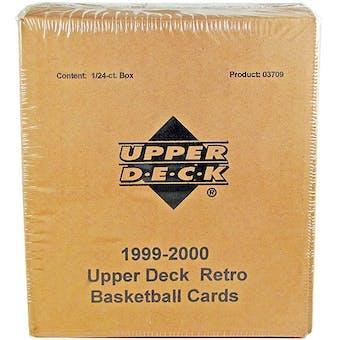 1999/00 Upper Deck Retro Basketball Hobby Box