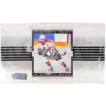 1999/00 Upper Deck SP Authentic Hockey Hobby Box