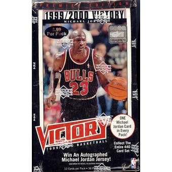 1999/00 Upper Deck Victory Basketball Box