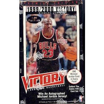1999/00 Upper Deck Victory Basketball Box