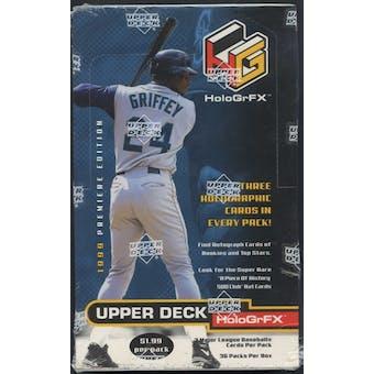 1999 Upper Deck Hologrfx Baseball Retail Box