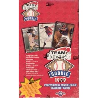 1999 Best Team Best Rookie Baseball Hobby Box
