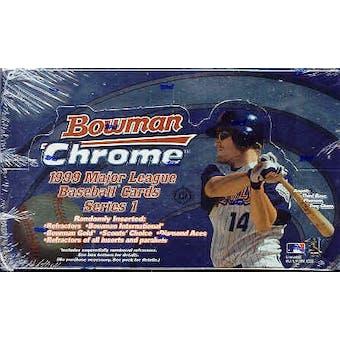 1999 Bowman Chrome Series 1 Baseball Hobby Box