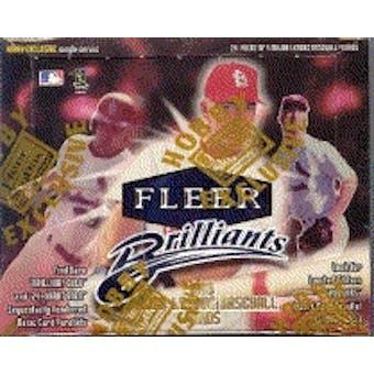 1999 Fleer Brilliants Baseball Hobby Box